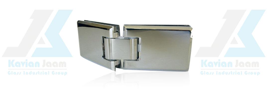 لولا پروانه ای شیشه به شیشه استنلس استیل